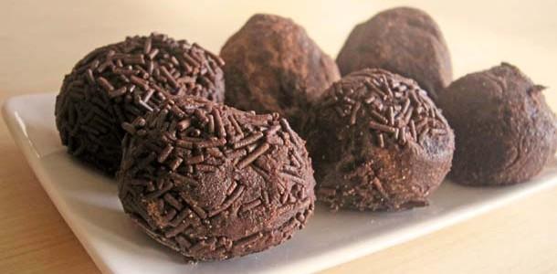 Trufas de chocolate - Postres fáciles