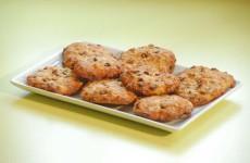 Galletas de almendra, plátano y chocolate - Postres fáciles